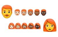 Emojis devem ganhar opções de pessoas com cabelos com diferentes cores