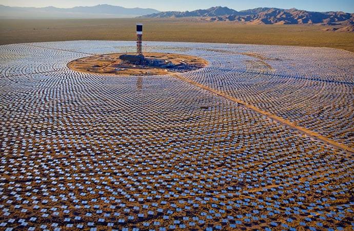 Maior parque de energia solar do mundo finalmente está no verde