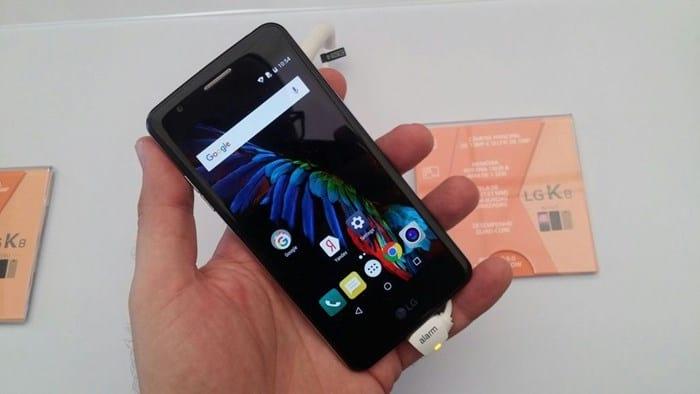 LG anuncia novos smartphones LG K8 e K4 (2017) no Brasil