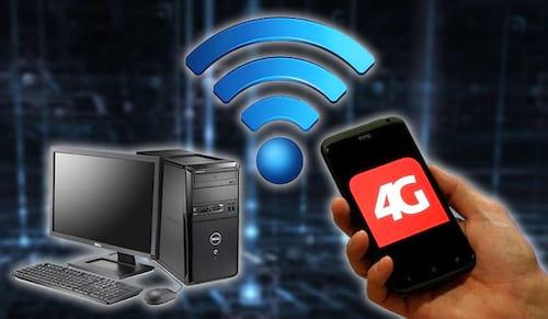 Como compartilhar a internet do celular no PC?