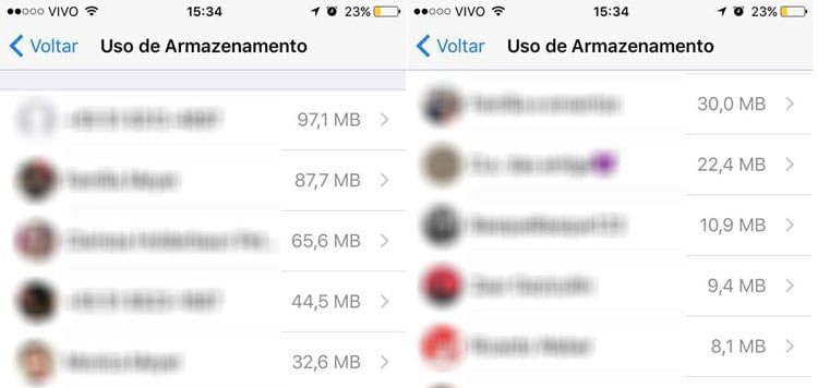 Como liberar MUITO espaço do WhatsApp (iOS)