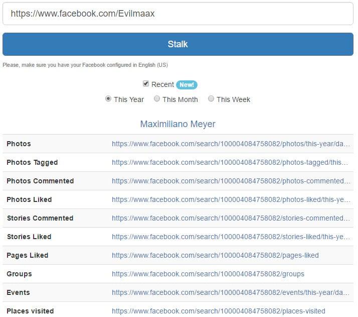 Como descobrir TODAS as informações de uma conta no Facebook