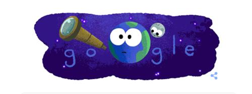 Doodle do Google homenageia exoplanetas descoberto pela NASA