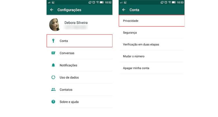 Como controlar quem pode ver o seu Status do WhatsApp