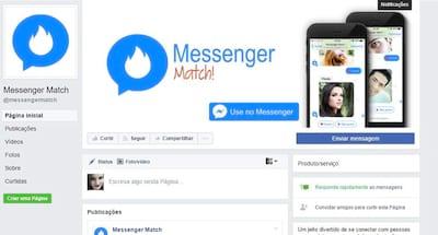 Facebook Messenger possui app para quem está em busca de uma nova paquera