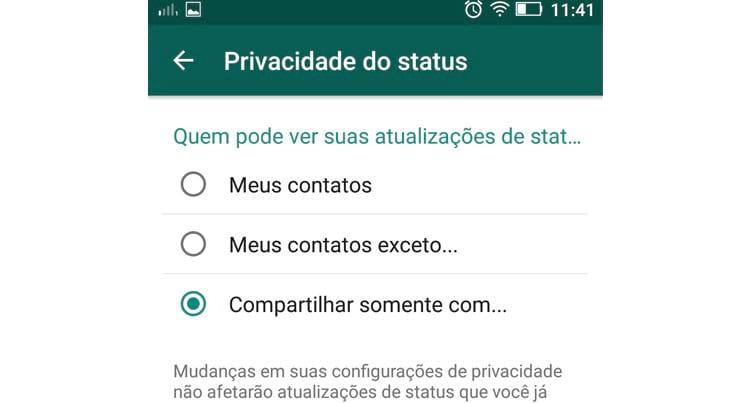 Tire todas as suas dúvidas sobre o Status, novo recurso do WhatsApp