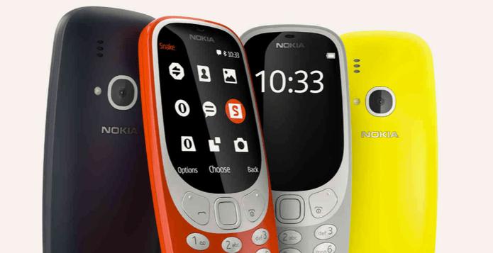 Confira a nova linha Nokia 3310