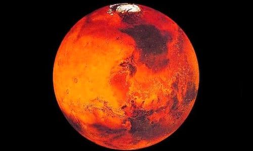 Marte receberá escudo magnético para abrigar vida humana