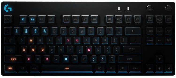 Logitech anuncia novo teclado Logitech G Pro