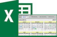 Planilha de calendário permanente + gerador de calendários no Excel