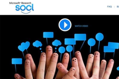 Alguém conhece? Microsoft encerra sua rede social So.cl
