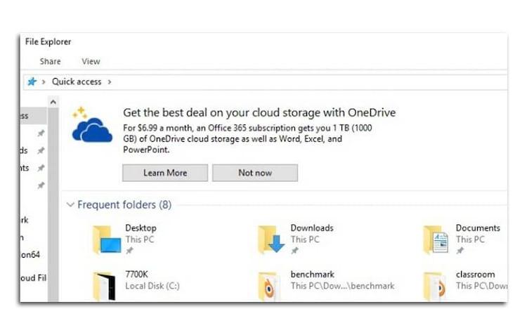 """Microsoft diz que anúncio de plano da empresa não passa de uma """"dica"""" no Windows."""
