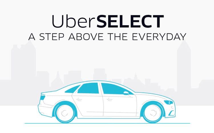 Uber recebe nova categoria com carros melhores e valores mais altos