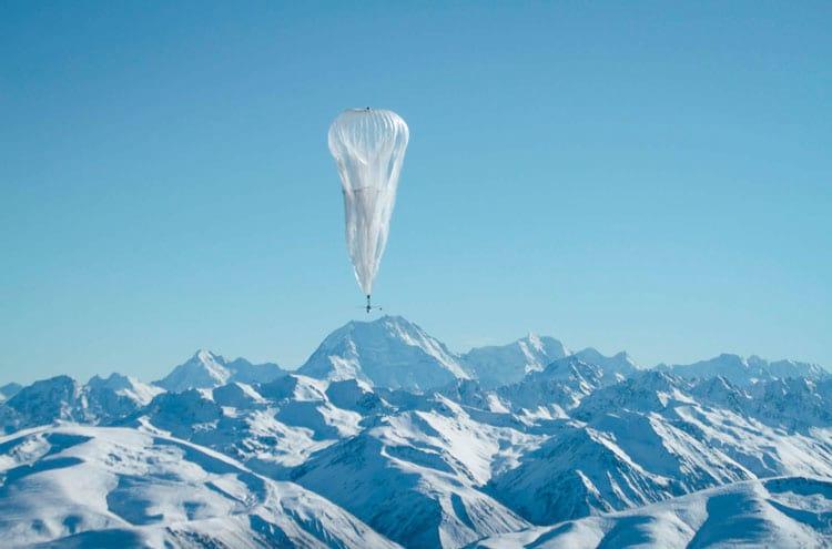 Balão trocando de corrente elísea