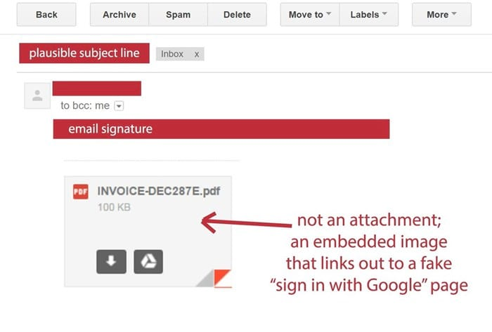 Golpe no Gmail. Fique atento!