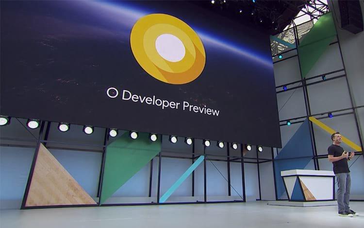 Apresentação do Android O no Google I/O 2017