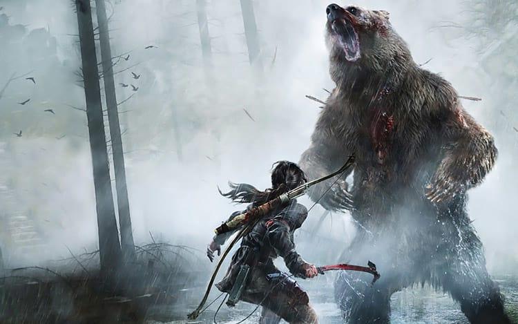 Um game que está gastando meu desktop há meses é Rise of The Tomb Raider