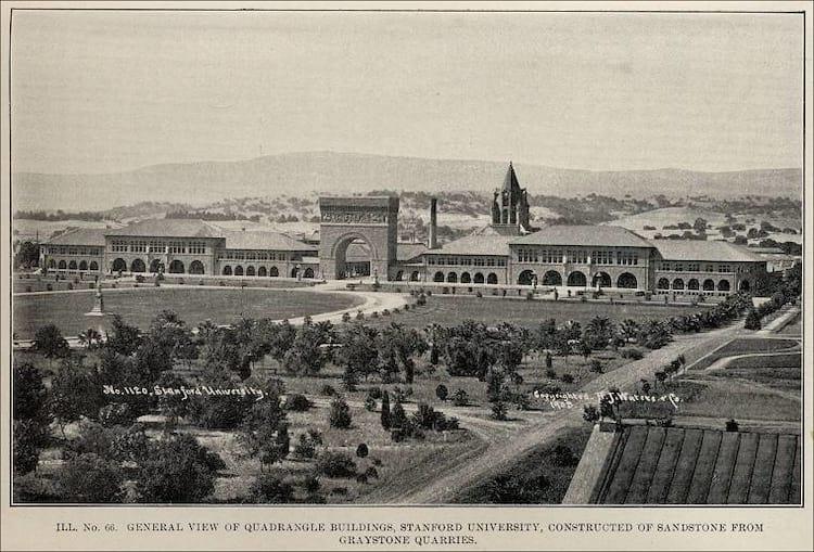 Stanford registrada em 1906 logo após o grande terremoto que acertou em cheio a Califórnia