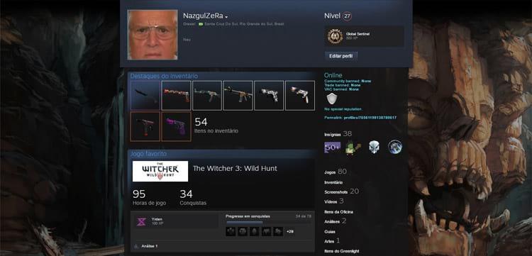Como subir de nível na Steam?