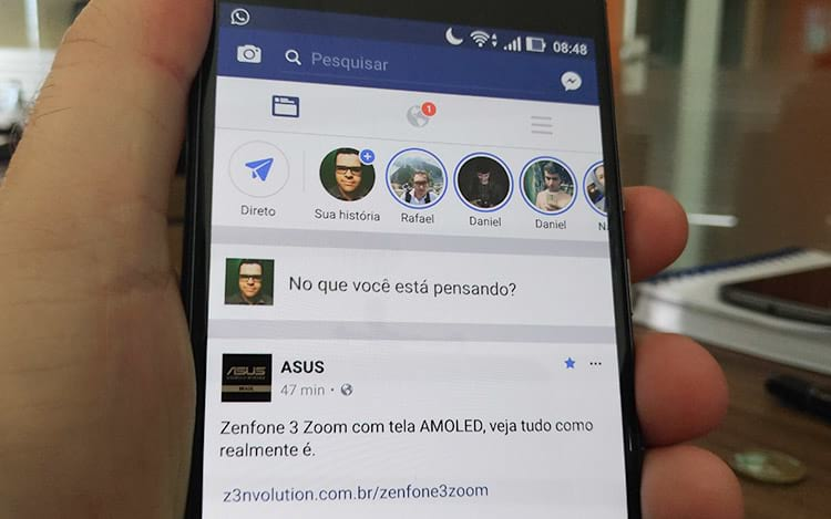 Facebook anuncia as Stories oficialmente