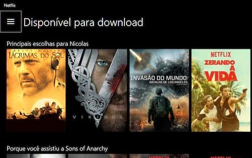 Netflix libera download de filmes para app no Windows 10