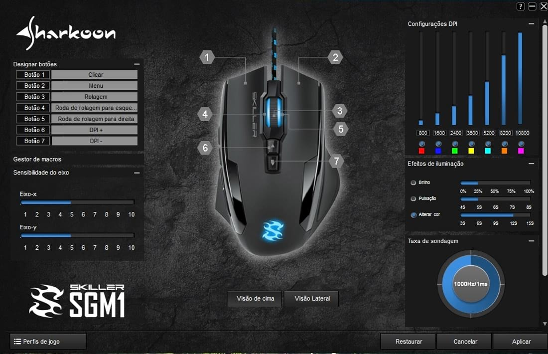 [VÍDEO] Review: Mouse Sharkoon SGM1, bom e barato, mas…