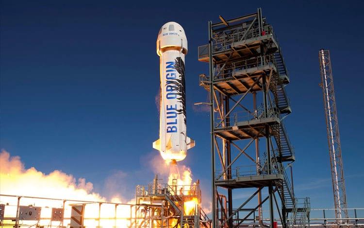 Blue Origin ganhará reforço financeiro de Bezos