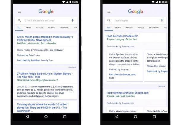 Google vai avisar quando notícia é falsa