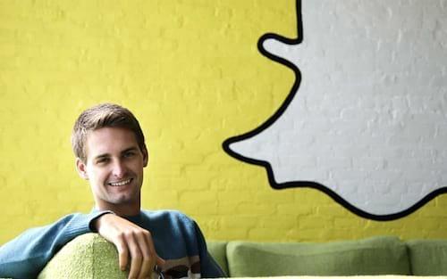 Snapchat não é para pobres, teria dito CEO do app