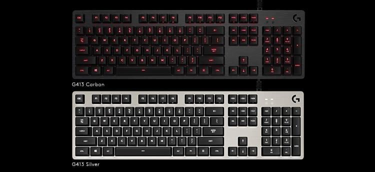 Logitech anuncia novo teclado mecânico G413