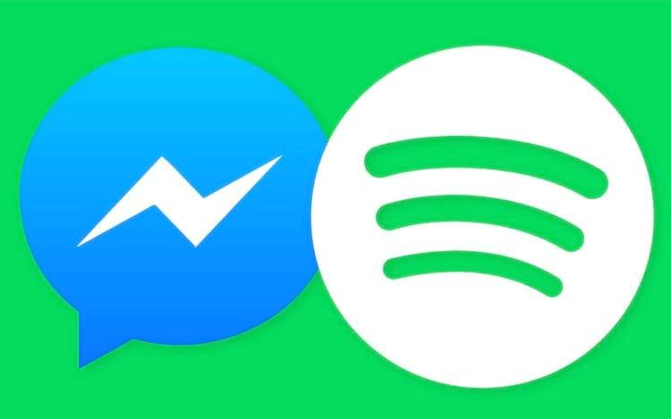 Facebook poderá integrar Spotify e Apple Music no Messenger