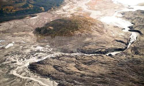 Imenso rio desaparece da face da Terra no Canadá
