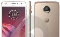 Imagem do Moto Z2 Play é revelada