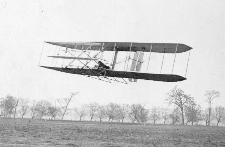 Um dos modelos dos Wright Flyer's