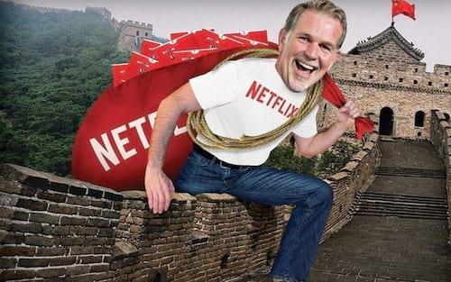 Netflix faz parceria com o Baidu para atingir o mercado chinês