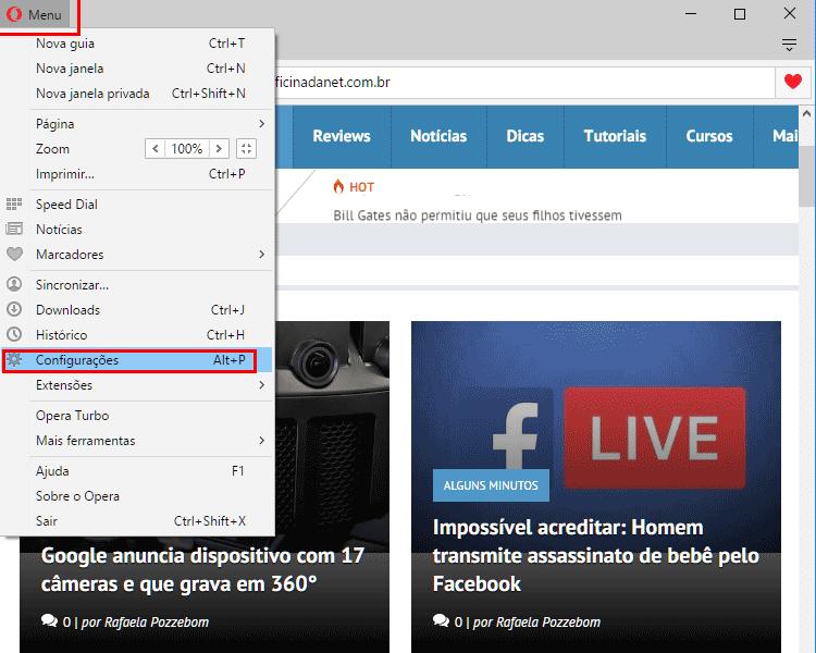 Como limpar o cache do navegador?