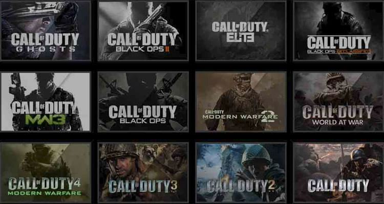Call of Duty infelizmente serve como única referencia da indústria para muitos
