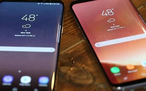 Samsung corrige tela avermelhada do Galaxy S8