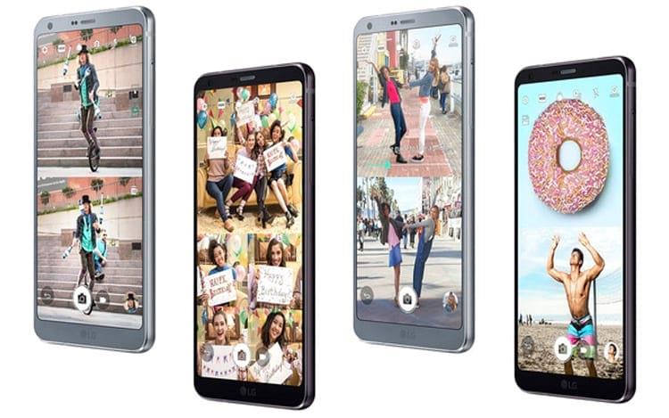 Principais destaques do LG G6