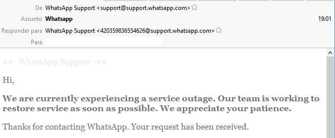 WhatsApp volta a sofrer com instabilidades no Brasil