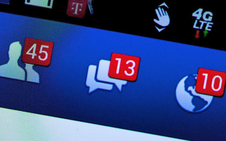 Mais de um quarto da população está conectada ao Facebook