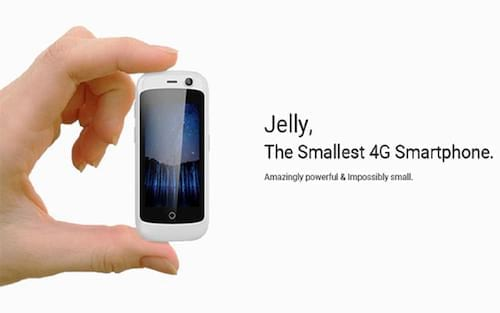 Jelly o menor smartphone 4G do mundo