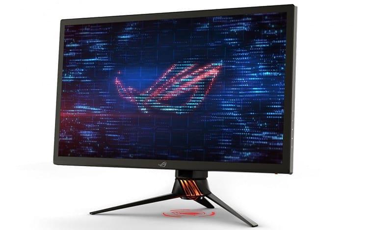 O ROG SWIFT PG27UQ é um dos primeiros monitores a oferecer resolução 4K com 144hz