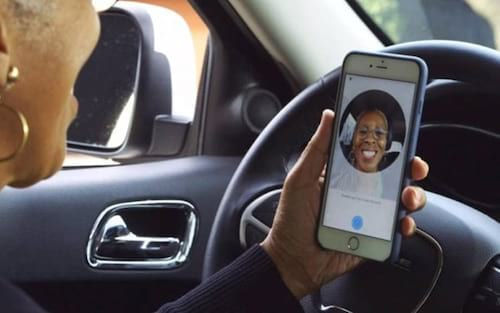 Uber usa selfies para garantir segurança de passageiros