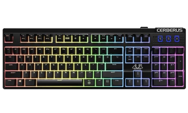 ASUS investe na linha gamer Cerberus criando novo headset e teclado mecânico: Confira
