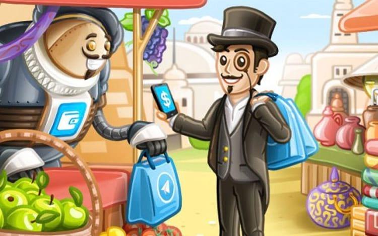 Pagamento por bots no Telegram