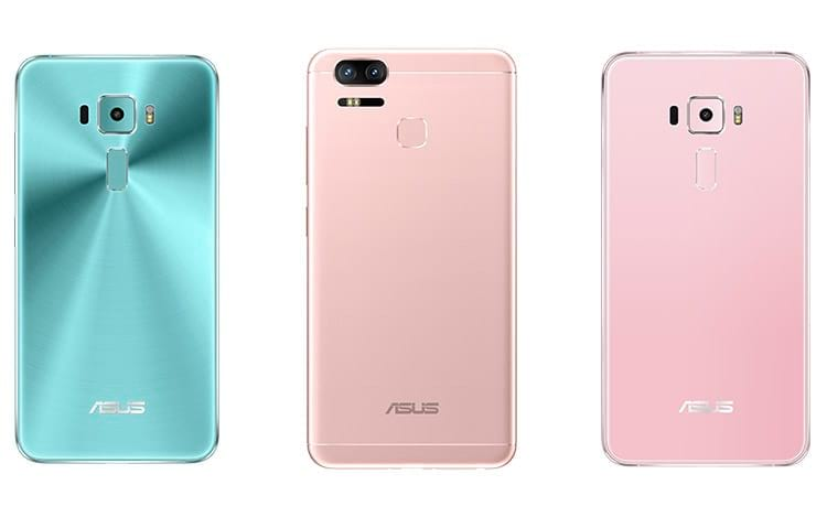 Zenfone 3 e Zenfone 3 Zoom ganham novas cores no Brasil