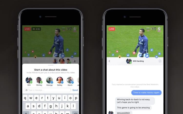 Facebook Live apresenta duas novas maneiras para se conectar com amigos