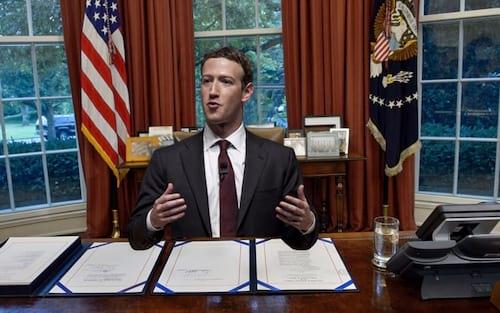 Se depender de Comitê, Zuckerberg poder tentar a Presidência dos EUA