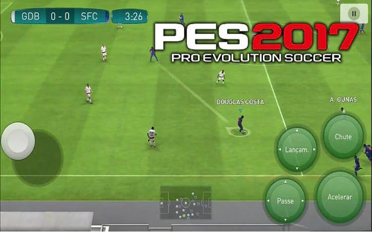 PES 2017 Mobile grátis na PlayStore